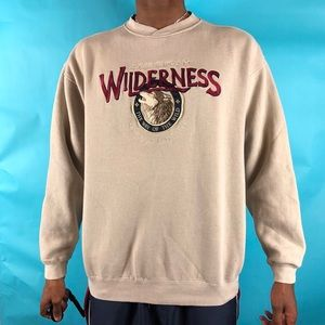 Vintage Great American Lakes sweatshirt size Large
